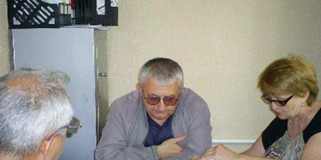 В Громадській приймальні ЛОО «Чайка».