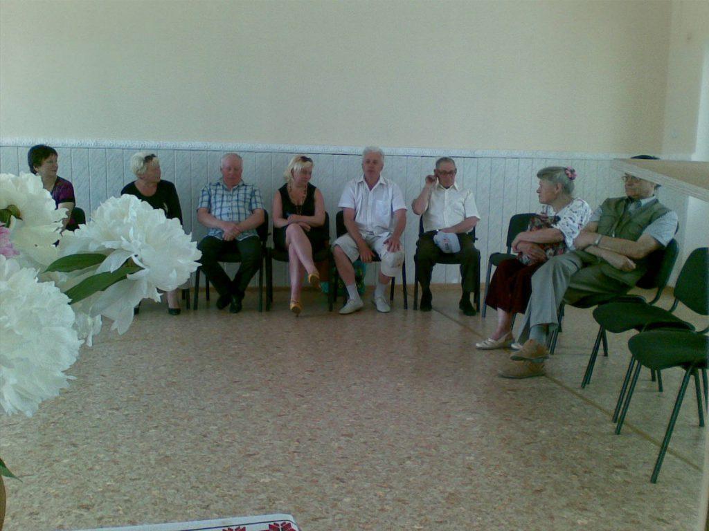 Чайка Презентація проекту у громаді с. Немішаєве