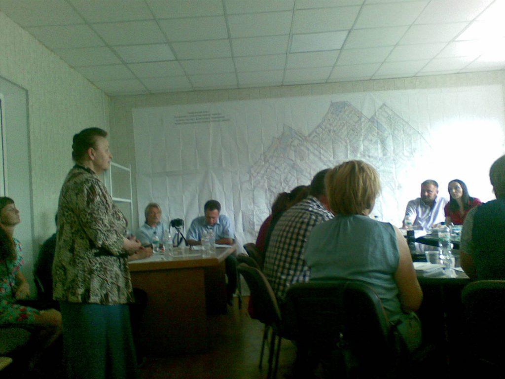 Розгляд заяви на виділення землі для ВПО с. Білогородка