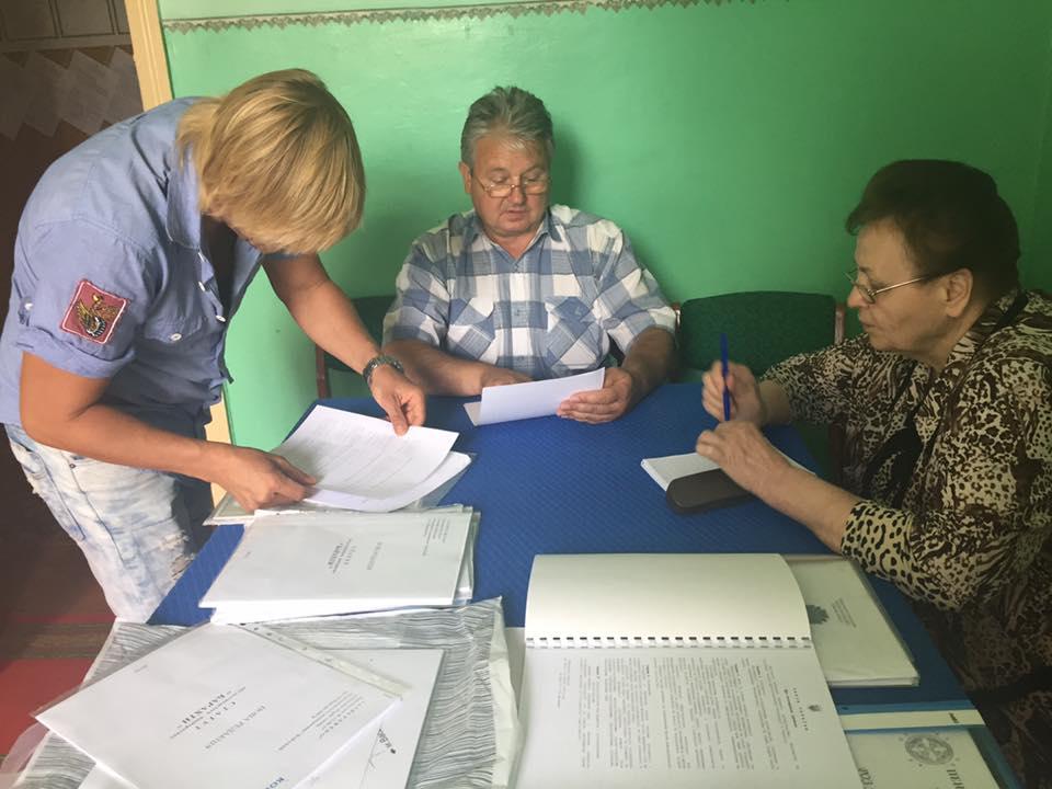 7.3 Спільна робота двох обслуговуючих кооперативів. Вивчення документів по с. Барахти